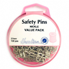 Safety Pins - Value Pack - 27mm - 100pcs